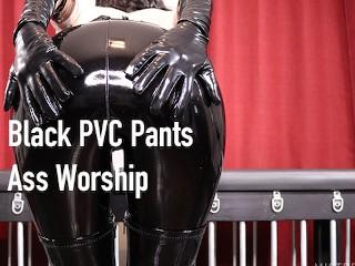 Black pvc worship...
