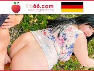 OUTDOOR FUCK! Chubby chick Samantha Kiss gets BONED at a lake! (ENGLISH) Flirts66