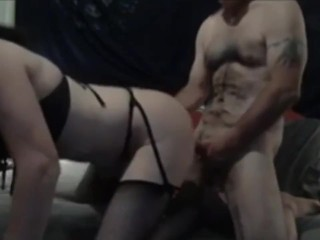Mature tgirl is the devil old daddy dude...