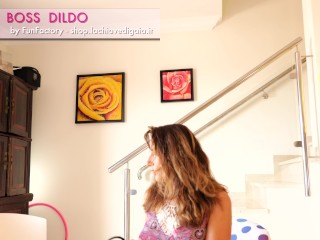 Dildo e StrapOn – BOSS DILDO FunFactory – Come si usa un dildo con lo strap on – GaiaOnTop