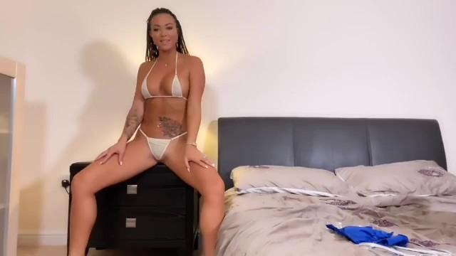 Natalia Forrest dominate JOI bikini changes 20