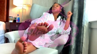 Worship My Ebony Feet At the Westin [Preview]