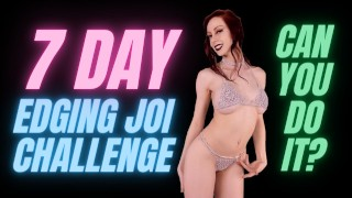 Edging JOI Jerk off Instructions - 7 Day Chastity Challenge JOIs by Gentle FemDom Goddess Nikki Kit