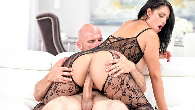 PUREMATURE Horny Mature Cristal Carabillo Fucked In Lacey Outfit