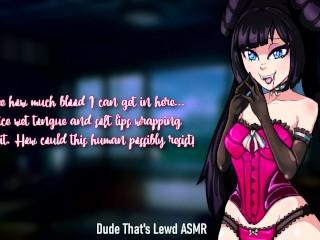 Vampire's First Suck... (3Dio ASMR) [Spooktober 14/31]
