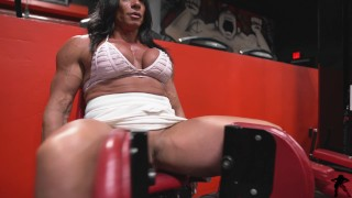 Muscle Milf Susan K Workout With My Clit Out Preiveiw