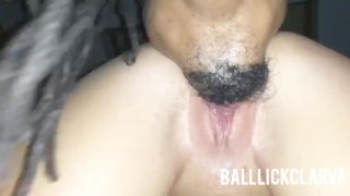 Fingering & eating out that PAWGS wap, then I had to fuck