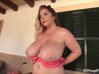 Melon big tits Touch My