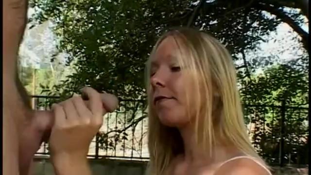 Busty Babe Get Cum Covered in Public by Boyfriends Big Cock 17