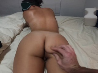 Thumperrealgood latina sucks cock like a pornstar deep...
