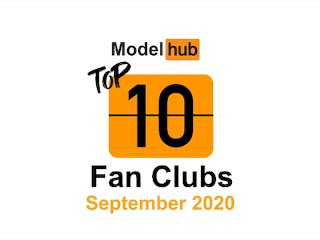 Top Fan Clubs of September 2020 – Pornhub Model Program