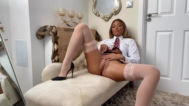 Naughty college girl Natalia Forrest PoV blow job and JOI 36