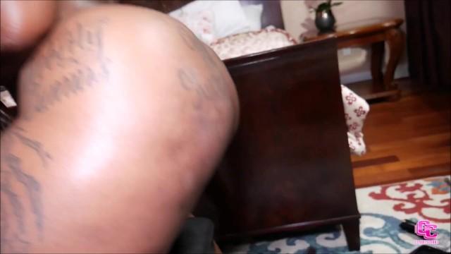 Two Big Booty Ebonys and One Huge Big Black Dick 4