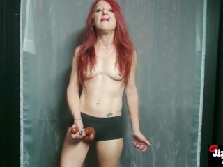 (CUSTOM) Femdom Pegging JOI – Your Ass is Mine
