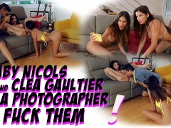2 BABES ACCEPT TO DO PORN FOR MONEY ON A PHOTOSHOOT!
