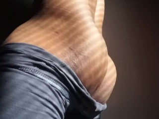 Male orgasm loud moaning watch grind and thrust...