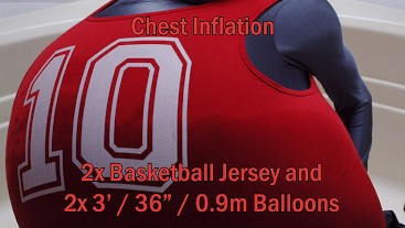 WWM - The Biggest of Tens 2x Basketball Jersey Inflation