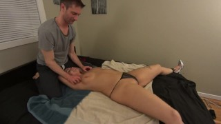 The Endless Ticklegasm! (Part 1) - Girl get's Tickled Horny! HD PREVIEW