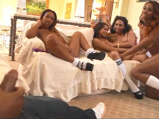 Amateur tits horny college sluts takes bbc janitor...