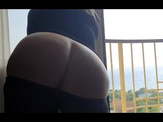 Outdoors women play hot...