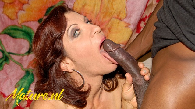 Horny Housewife Wants a Big Black Cock In the Back of her Throat