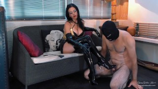 Edge of Heaven - A Human Furniture's Dream Preview - Young Goddess Kim