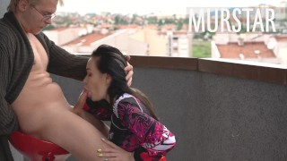 Возбудил соседку и дал ей в рот || Murstar
