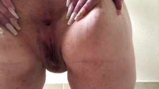 a nice bbw ass spread