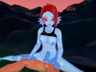 Undertale – Sex with Undyne – Hentai