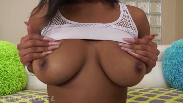 EvilAngel - Stunning Anal Girl Nia Nacci Rides Cock 9