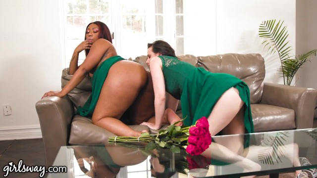Girlsway Bridesmaids Chanell Heart & Casey Calvert Get Intimate Before The Wedding