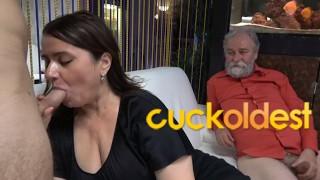 Grandpa is a Master in Cuckolding