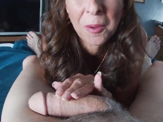 Sucking big cocks and swallowing...