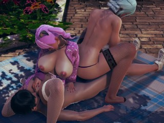 Game uncensored full threesome hd...