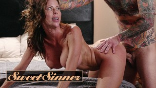 Sweet Sinner - Sexy Redhead Milf Alexis Fawx Fucks Young Male Stud Small Hands