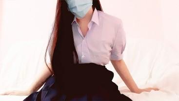 นักเรียนมอปลาย 004 - Thai Miss Creampie