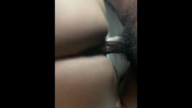 Black wet pussy creampie! Vacation getaway fuck! Wet creamy ebony pussy 9