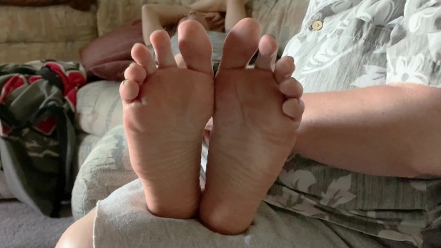 Why does a good foot rub have to end with a good tickle? 12