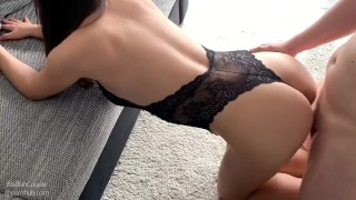 SOME QUALITY QUARANTINE TIME FULL LENGTH - FUCKING TEEN IN SEXY LINGERIE