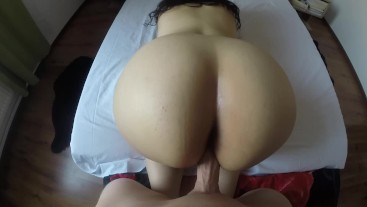 POV Intense Moaning Big Ass Teen Doggystyle