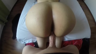 POV Big Ass Teen Intense and Loud Moaning