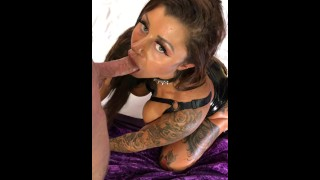 Young whore gets fucked in the ass without a condom at the hotel