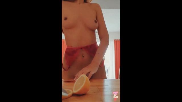 INTIMATE KITCHEN SEX - sensual amateur couple gets passionate 49