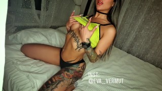 Screen Capture of Video Titled: Tits play
