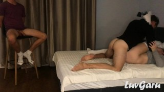 First Anal With Creampie | Husband Share His Wife With Guy From Tinder
