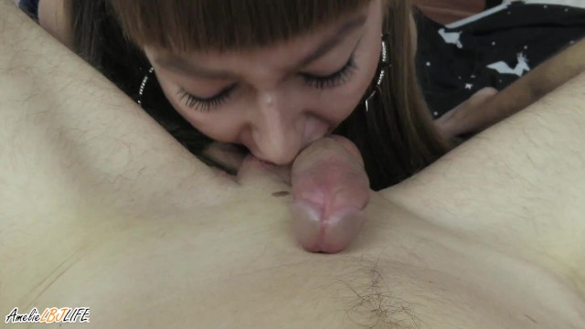 Sexy Girl Makes A Passionate Blowjob To Her Beloved Guy 1