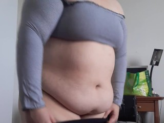Cant fit in clothes after weight gain...