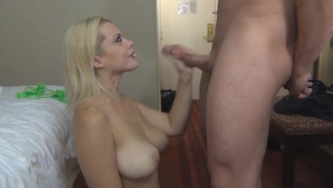Nadia White Big Tit fuck and she even shoves her tongue up my ass