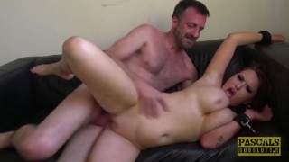 PASCALSSUBSLUTS - Redhead Ashleigh DeVere Hammered by Pascal