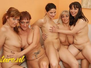 Maturenl 4 mature ladies 1 having a kinky...